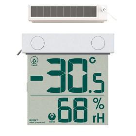 Цифровой термометр гигрометр на солнечной батарее 01378