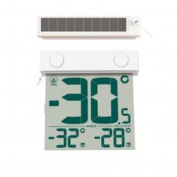 Цифровой термометр на солнечной батарее 01389