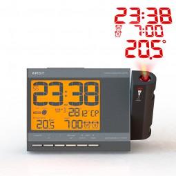 Проекционные часы-будильник Q755