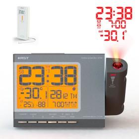 Проекционные часы c радиодатчиком Q765