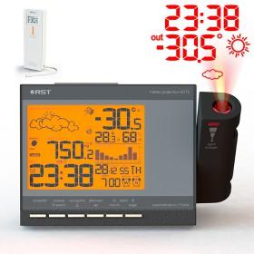 Проекционные часы метеостанция Q775