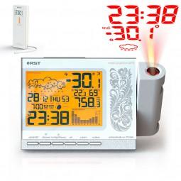 Проекционные часы метеостанция Q779