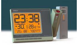 Удобно в спальне. Проекция времени и уличной температуры на потолке.